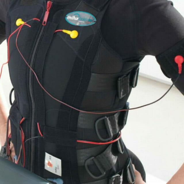 Ηλεκτρομϋοδιέγερση ολόκληρου του σώματος (εκγύμναση EMS) για παθήσεις της μέσης